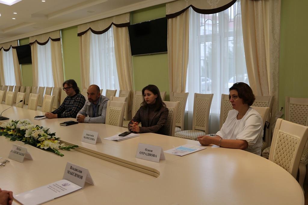 Робоча зустріч із представниками Міжнародного інституту «Актіо-Експерт»